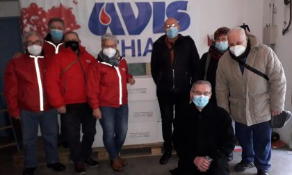 L'Avis dona 3 quintali di pasta alla Caritas