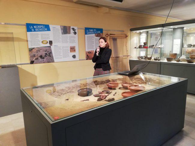 Elena Baiguera curatrice Museo di Manerbio