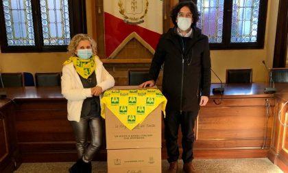 Consegnati nei Comuni i pacchi donati da Coldiretti