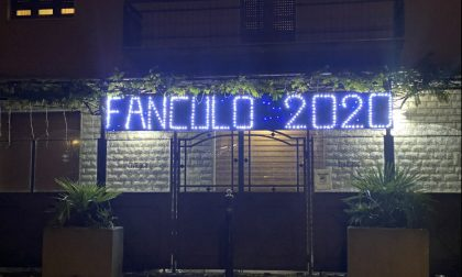 """Una luminaria ad hoc per """"salutare"""" il 2020"""