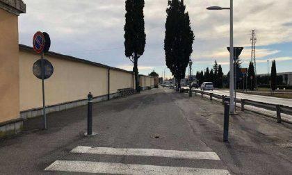 Viale del cimitero sotto i ferri per una viabilità più sicura