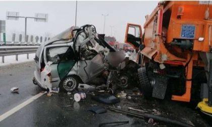 Grave incidente stradale, coinvolto il papà di un milzanese