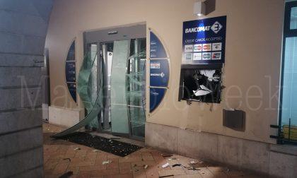 Assalto al bancomat nella notte a Dello, gravi danni alla filiale