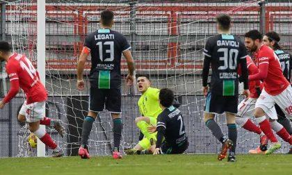 La Feralpisalò non reagisce: a Perugia arriva un'altra sconfitta