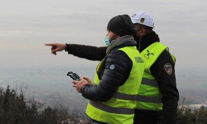 Controlli dal cielo con il drone della Polizia Locale