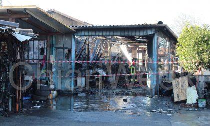 Deposito in fiamme a Erbusco GALLERY
