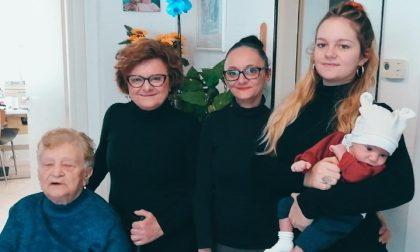 Da Ryan a Elisabetta, cinque generazioni ancora insieme