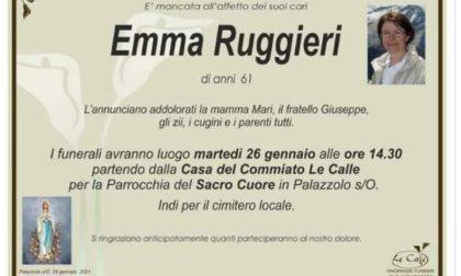 La comunità piange la maestra Ruggieri