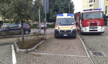 Vigili del fuoco in soccorso di un anziano caduto in casa
