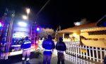 Vigili del fuoco in azione a Rovato
