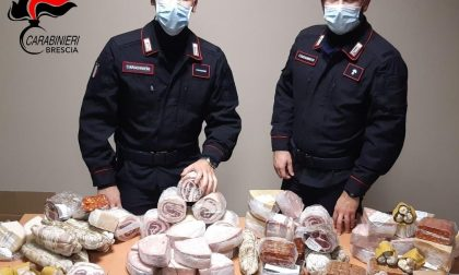 Ladri seriali di salumi e formaggi denunciati dai Carabinieri