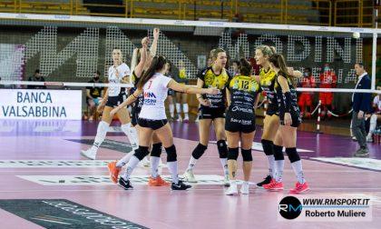 Valsabbina Millenium, maledetto quinto set: Cuneo rimonta 2-3