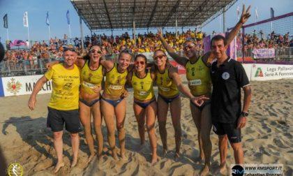 Millenium Brescia, al via il campionato italiano di beach volley