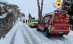 Slavina a Bienno, intervengono i Vigili del Fuoco
