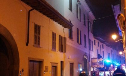Incendio in via Marengo a Chiari