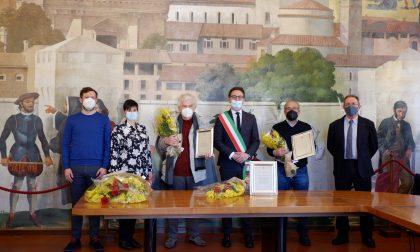 Chiari festeggia i Patroni San Faustino e Giovita: le fotografie dei premiati e dello scambio dei doni