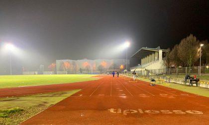 Campo sportivo: terminati i lavori di riqualificazione dell'impianto di illuminazione