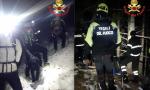 Si perdono durante l'escursione, tre persone salvate dai Vigili del Fuoco