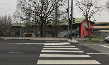 Da oggi via Brescia più sicura per pedoni e automobilisti