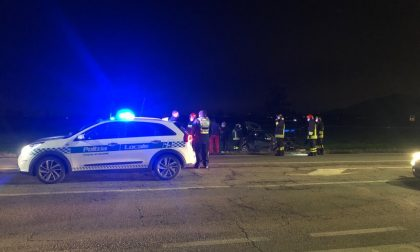 Incidente sulla Sp11 tra Coccaglio e Chiari: un'auto finisce nel campo