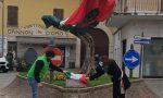 Un ulivo in memoria delle vittime del Covid di Azzano Mella