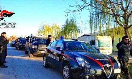 Spaccio al campo nomadi, i Carabinieri intervengono e sequestrano soldi e droga