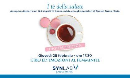 Cibo ed emozioni al femminile, il nuovo incontro di Synlab