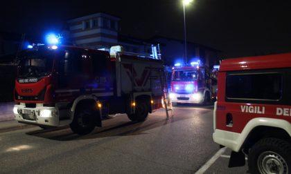 Incendio da canna fumaria: nessun danno al tetto