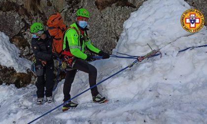 Soccorso alpino a Vezza d'Oglio, ma è solo un'esercitazione: tutte le fotografie
