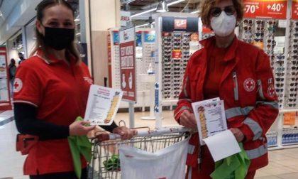 Leone di Lonato e Croce Rossa Calvisano: insieme per raccogliere tonnellate di beni necessari