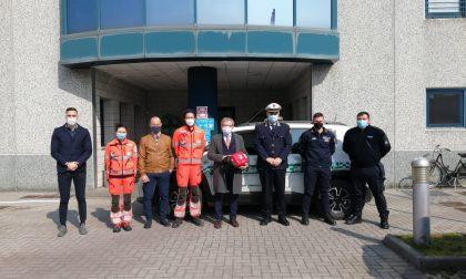 Un nuovo defibrillatore alla Locale di Orzinuovi