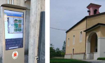 """Il cimitero di Bedizzole si fa """"smart"""" con un totem digitale"""