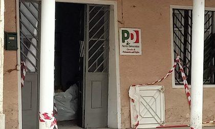 Furto nella sede del Pd: ladri scappano con la stufa a pellet