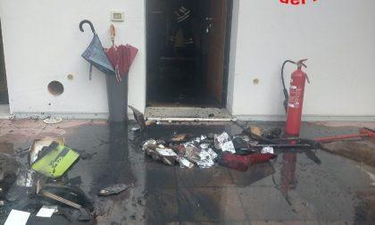 Incendio in un appartamento: intervengono i Vigili del fuoco