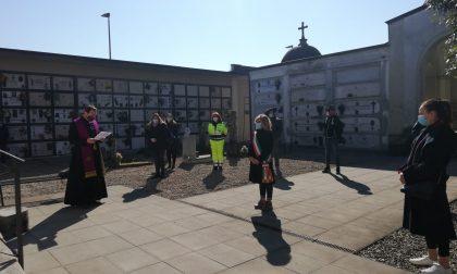 A San Paolo la posa di quattro lapidi per le vittime del Covid