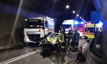 Incidente mortale in galleria: code sulla sp510 tra Sulzano e Iseo