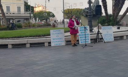 No vax, l'attivista Ghinda scende in piazza a Desenzano