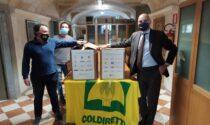 Coldiretti dona 80 quintali di cibo alle famiglie bisognose