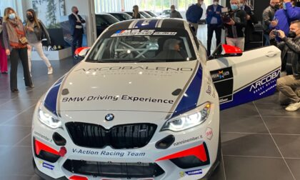 Nanni Nember e Team V-ACTION hanno presentato BMW M2 CS Racing