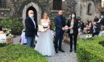 Celebrato il primo matrimonio al Castello Bonoris