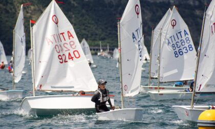 Trofeo Optimist Italia Kinder Joy of Moving 2021 a Campione, 300 gli iscritti