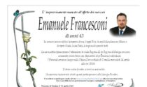 Regona e Pralboino piangono Emanuele Francesconi