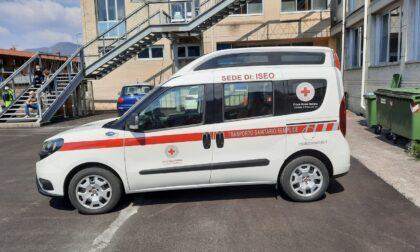 La Croce Rossa di Iseo ha un nuovo mezzo