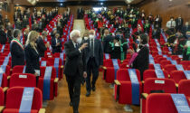 Le fotografie della visita di Mattarella a Brescia