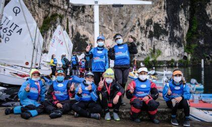 Circuito Optimist Italia Kinder Joy of Moving 2021,prima tappa vinta da Vanelo