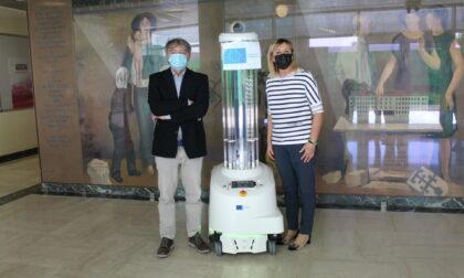 E' arrivato il robot per la disinfezione dell'ospedale