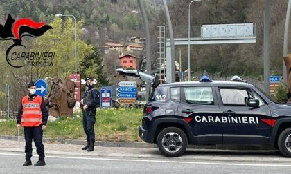 Non si ferma all'alt dei Carabinieri, arrestato