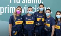 Le pallavoliste bresciane Danesi e Mingardi vaccinate per le Olimpiadi