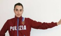 La portabandiera Jessica Rossi è in ritiro a Lonato del Garda