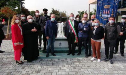 Inaugurata la nuova piazza Europa di Coccaglio
